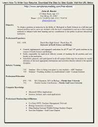 Free Download Teacher Resume Format Free Pdf Resume Template Savebtsaco 3