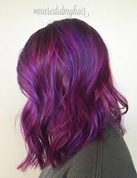Purple Hair Style 40 versatile ideas of purple highlights for blonde brown and red hair 5126 by wearticles.com