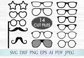 Svg stands for scalable vector graphics. Glasses Graphic By Magicartlab Creative Fabrica