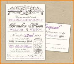 wedding rsvp postcards templates 6 download invite templates odr2017