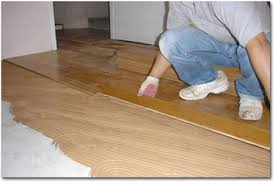 Construction Remodel Bamboo Flooring Install Interior Design Man Worker  Floor Decoration Wooden Import Expensive