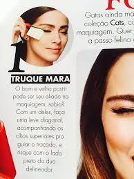 gatinho truque make up