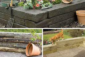 ideas for stylish retaining garden