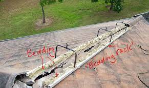 bedding and pointing of a tile roof