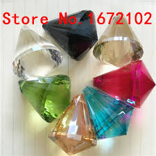china top aaa quality crystal 30mm 100pcs mixed color glass chandelier prism for dining