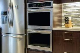 27 inch double wall oven reviews double oven review front angle electrolux 27 double wall oven