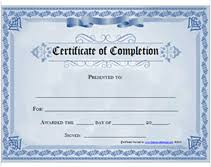 free training completion certificate templates printable certificate of completion awards certificates templates