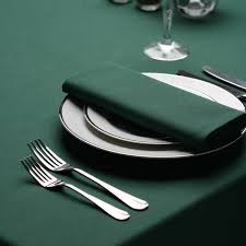 Round Kitchen Table Cloth Forest Green Tablecloths In Round Square Circular Richard Haworth