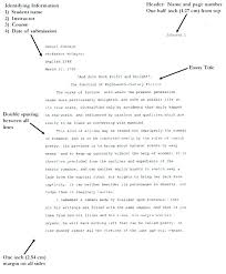 How To Write In Apa Format For A Research Paper Apa Format Essays How To Write A Research Paper Format Apa Format