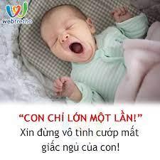 Webtretho - HÃY TRẢ LẠI GIẤC NGỦ CHO CON!!! Bé nhà bạn...