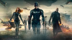 captain america and team picture wallpaper