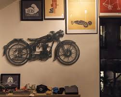 metal motorcycle wall art harley