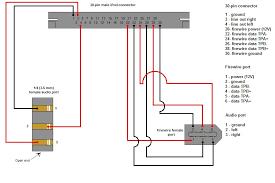 ipod dock  dock v 2 0 schematic