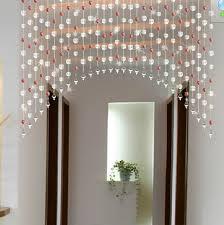 diy acrylic beads curtain window door curtain wedding backdrop pink red yellow green black purple