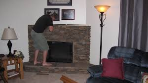 9 faux stone panels fireplace mccmatricschool