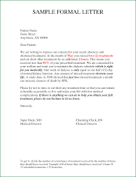 Writing Formal Letter Format Gallery Letter Samples Format