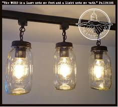 into lighting. Load Image Into Gallery Viewer, Mason Jar TRACK LIGHTING New Quarts  Trio - The Lamp Lighting