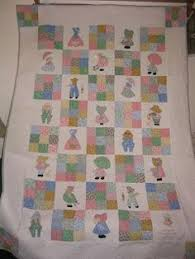 Sunbonnet Sue Twin Bed Quilt | For the Home | Pinterest ... & Sunbonnet Sue Twin Bed Quilt | For the Home | Pinterest | Sunbonnet sue,  Twin beds and Twins Adamdwight.com