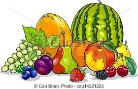 fruit food group clipart. Wonderful Group Fruits Group Cartoon Illustration For Fruit Food Clipart I
