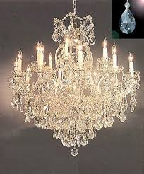 maria theresa crystal chandelier lighting chandeliers dressed with diamond cut