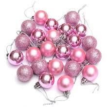 Popular Pink Christmas Ball Ornaments-Buy Cheap Pink Christmas ...