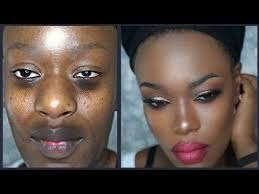 easy beginner friendly affordable makeup tutorial on brown dark skin you