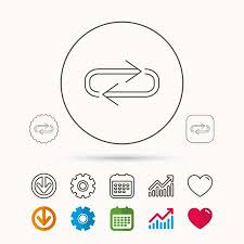 Full Sign Chart Repeat Icon Full Rotation Sign Reload Refresh Loop Symbol