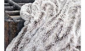 gray faux fur throw. Unique Throw Gray Faux Fur Throw Blanket  Inside A