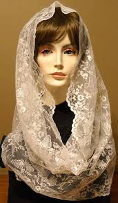 infinity veil. 43-44 inches around by 24 wide infinity veil n