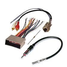 audiophile car stereo cd player wiring harness wire aftermarket audiophile car stereo cd player wiring harness wire aftermarket radio install for select ford lincoln and mercury vehicles buy online in uae