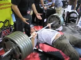 1RM Bench Press Progress On Alex Viadau0027s Max Effort Template NOV 1rm Bench