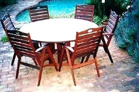 round outdoor settings rou wooden outdoor table wooden outdoor furniture settings table timber setting party ideas