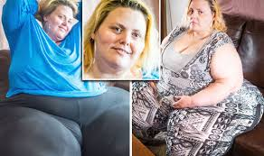 Woman who weighs 38 stone desperate to have the world's largest ...