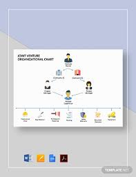 Joint Venture Organizational Chart Template Word Google