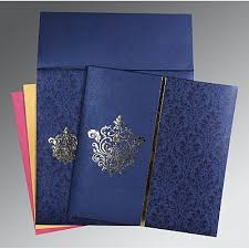 south indian wedding invitations south indian wedding cards South Indian Wedding Cards blue shimmery damask themed foil stamped wedding invitations aso 1503 south indian wedding cards