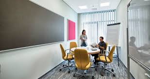 improving acoustics office open. Study: How Do Wall Absorbers Impact Room Acoustics? Improving Acoustics Office Open