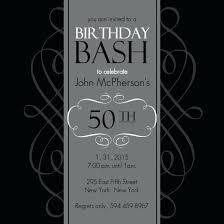 50th Birthday Invitations Templates Birthday Invitations 50th Party Shukyakumaster