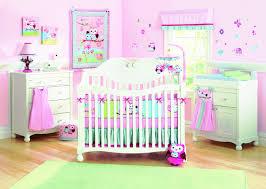 owl crib bedding for girls infant