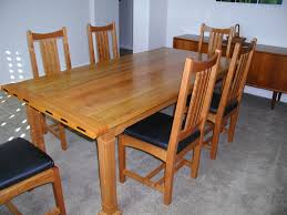 Len S Arts And Crafts Dining Table The Wood Whisperer