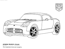 Small Picture Sports Car Coloring Pages To Print Coloring Coloring Pages