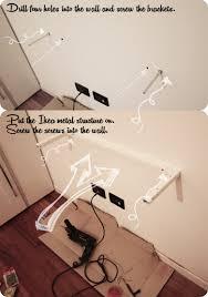 Ikea Lack Shelf Hack Mini Pc Float And Slide Desk Ikea Hackers Ikea Hackers