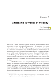 citizenship in worlds of mobility pdf available