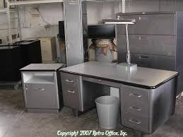 vintage metal office furniture. retro office desks 130 best furniture vintage mad men steelcase images metal