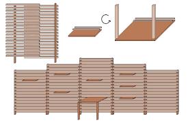 Sichtschutz F R Terrasse Selber Bauen