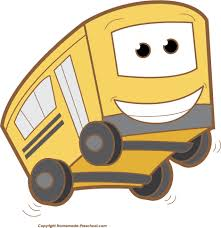 Image result for cute bus clipart