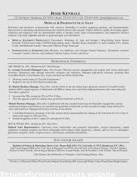 Medical Sales Resume Examples Device Rep Representative Vozmitut