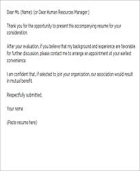 Short Cover Letter For Job Short Cover Letters 9 Free Word Pdf