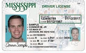 Driver's Maker Virtual Card Id License Fake - Mississippi