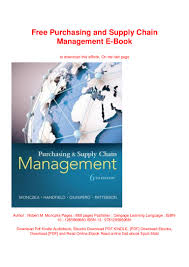 Designing And Managing The Supply Chain Ebook Free Purchasing And Supply Chain Management E Book