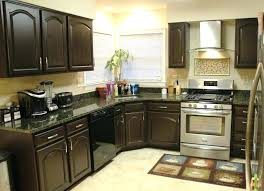 painted wood kitchen cabinets creative kitchen cabinet ideas in dark color reflect elegant taste charming painted